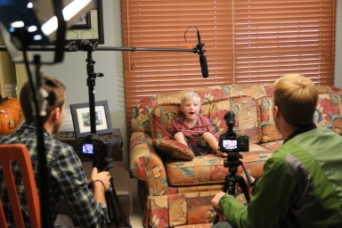 Our youngest interviewee yet!